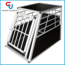 Aluminum Alloy Dog Cage Safety Folding Big Pet Dog Cage Aluminum Pet Transport Cage