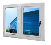 hot sale high quality casement window with blinds