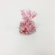 Custom printed plastic cellophane candy/snack food bags OPP cello bags