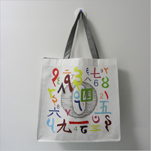 high quality coated custom printed shopping promotional cheap eco bag non woven for packing cloth