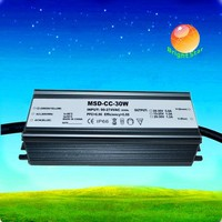 700mA 900mA 1050mA 1200mA 1500mA 1800mA 2000mA 30W Waterproof Constant Current IP67 LED Driver Power Supply with CE RoHS