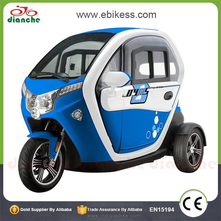 Made in China unfoldable electric tricycle