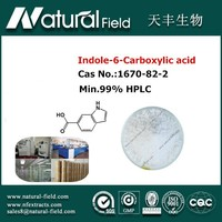 pharmaceutical drug synthesis indole-6-carboxylic acid powder 1670-82-2