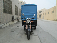Big Power China Supplier 3 Wheel Cargo Motorcycle With Roof For Sale
