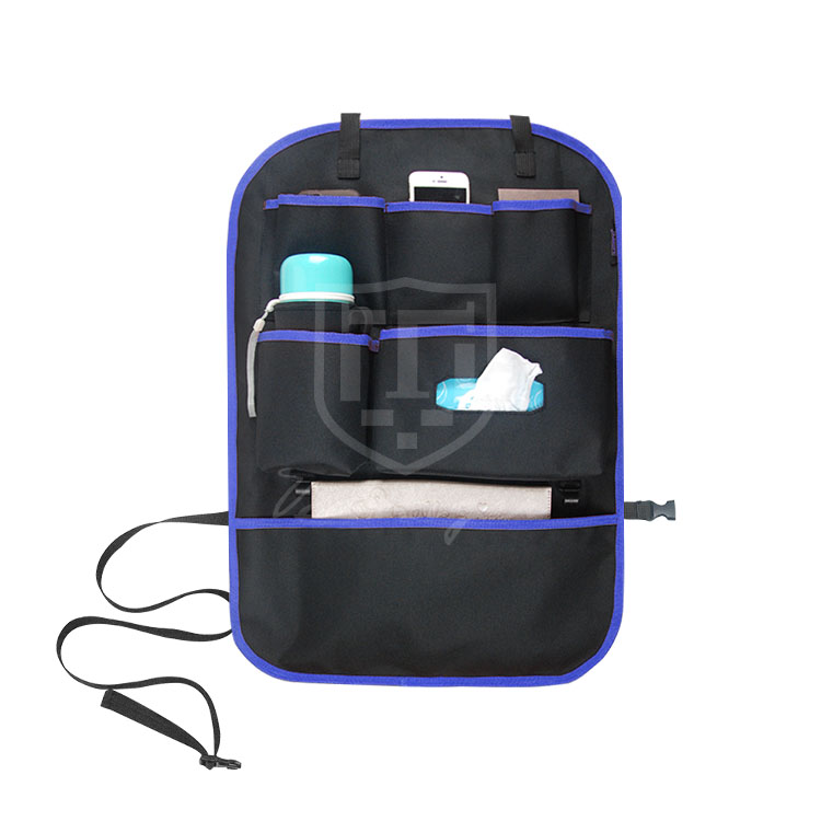2016 Hot-selling Hanging CAR BACKSEAT ORGANIZER with Laptop Pocket