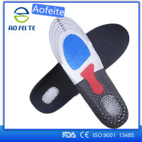 2016 Aofeite Custom Silicone Orthotic Anatomical Insole for Shoes