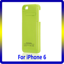 Factory price Wireless Charging Cover, power bank 3200mah for iphone 6 battery case
