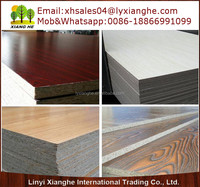 Wood Grain Melamine Particle Board For Sale