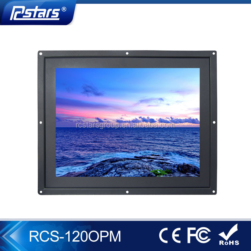 used lcd monitors wholesale, oem/odm 12 inch open frame high brightness lcd monitor