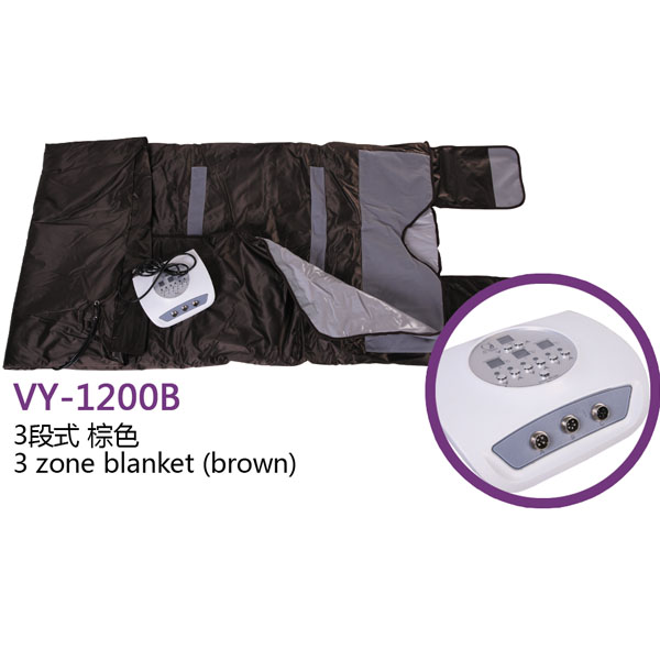 VY-1200 newest 3 section infared sauna blanket