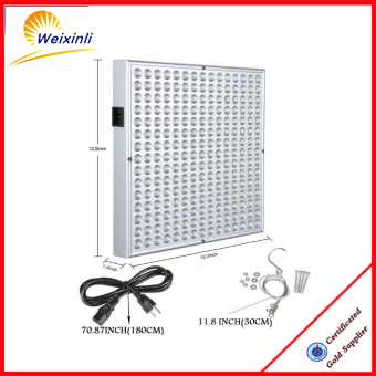2017 panel led grow light, high par value 45w high quality diy led grow light kits
