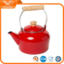 Arab tea kettle with wooden handle