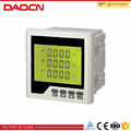 DAQCN AC DC ammeter voltmeter digital power factor meter