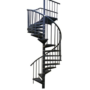 Outdoor Wrought Iron Stair Design Cast Iron Spiral Stair