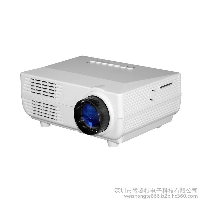 VS311 touch smart 1500lumens portable led mini rechargeable <strong>projector</strong>