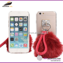 [Somostel] Puffer Ball TPU Transparent Case For iphone 6, For Apple iphone 6 Cell Phone Clear Case