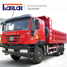 Cheap 20 tons 25 tons 30 tons tipper truck 6x4 Euro 3 Hongyan Iveco dump truck for sale