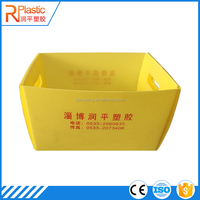 low price food storage clear plastic doll box