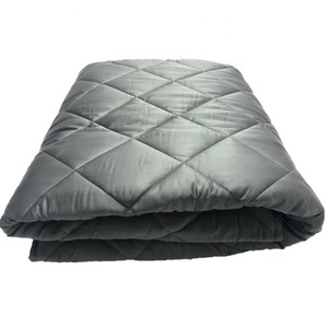 Weighted Blanket Kids Adults- 60''80''20LB - Calm, Sleep Better Relax naturally. Customized Sizes Grey Diamond Pocket