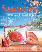 Frozen Banana Rosella Strawberry Smoothies
