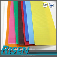 plastic display board plastic sheet , Polyethylene foam sheet,corrugated raw material with printing