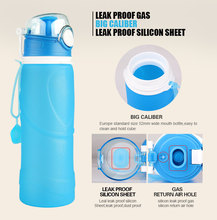 2016 new design Air-line carry on silicone sport water container/fruit infuser water bottle