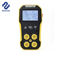 Portable Probe Gun Multi CO Lel H2s O2 Gas Detector