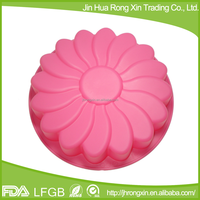 Food Grade Circular Shaped Silicone Baking Pans round Silicone Cake Mould