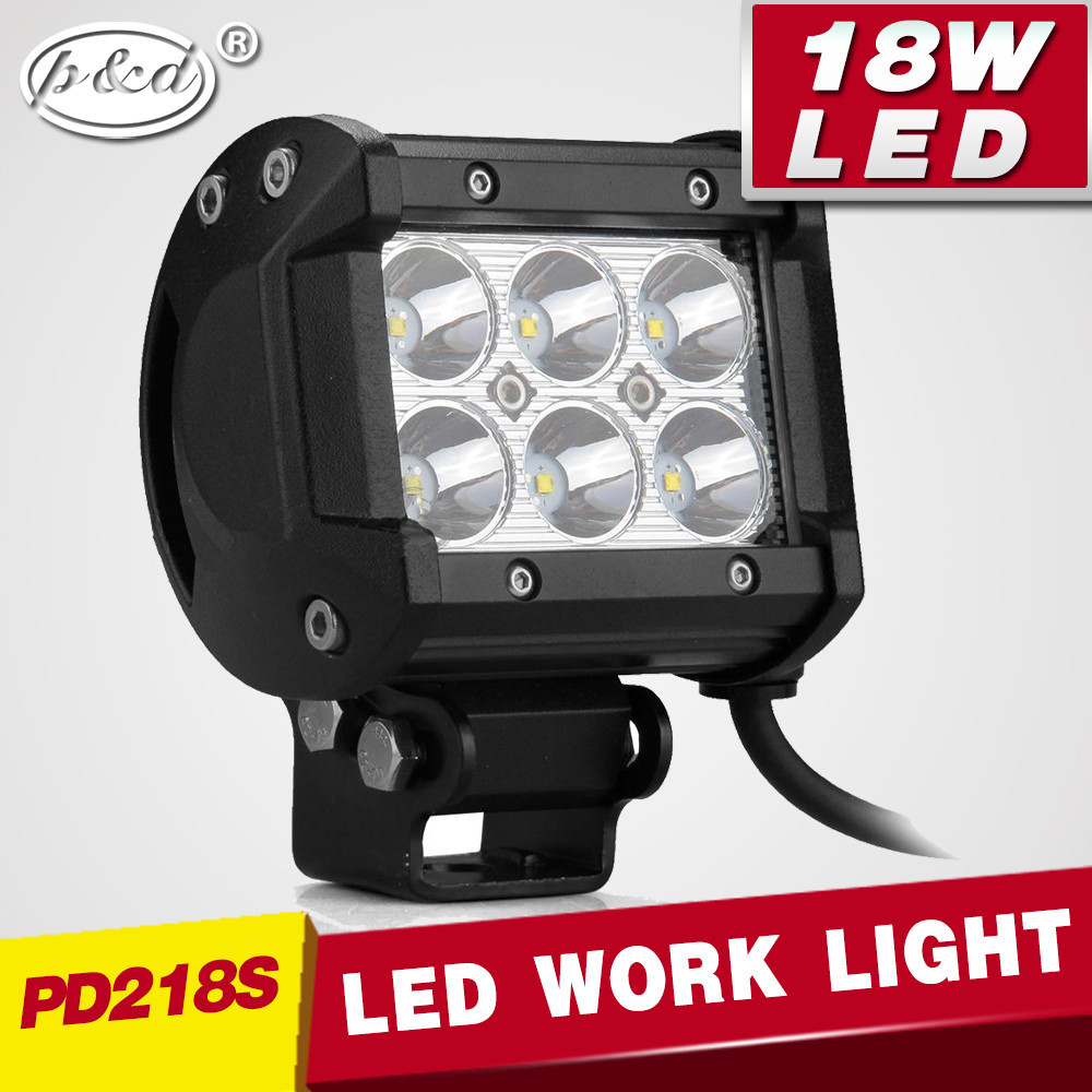 ATV/Truck/Tractor 4x4 off road 18W led working light work light search light