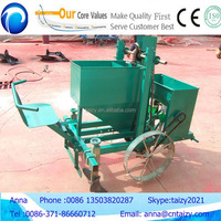 potato planter with fertilizer applicator