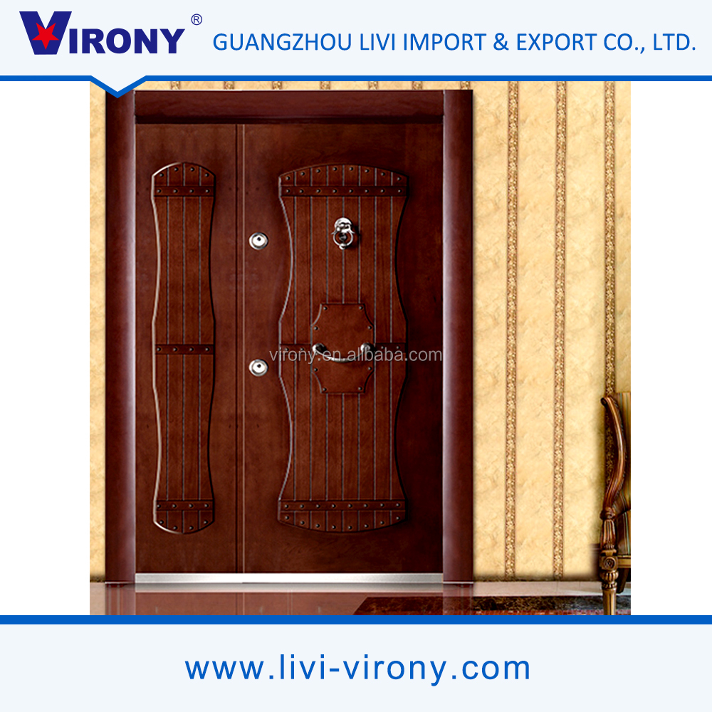 Fashionable style non-discolouring single swing door