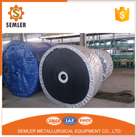 CE/SGS/ISO standard NN/EP/CC canvas rubber chemical resistant conveyor belt for paper mill