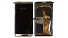 cell phone lcd screen for Huawei Mate 7 complete Golden