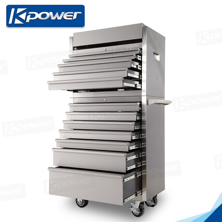 Stainless Steel Material Tool Box Roller Cabinet With Tool