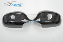 Carbon fiber rear side mirror cover for BMW E90 09-12 year style