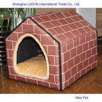 Different styles best selling easy detachable triangle nest animal outdoor house for dogs