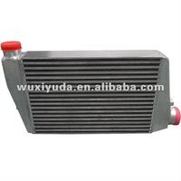 hot selling aluminum plate custom intercooler,turbo intercooler for auto