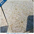 Standard size rusty yellow G682 rough granite slab