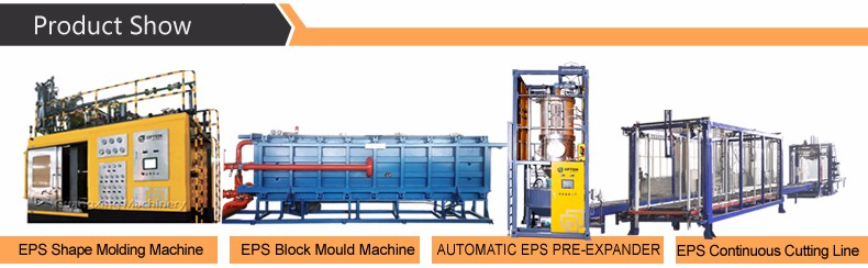 EPS Foam Making Machine With Vacuum Forming