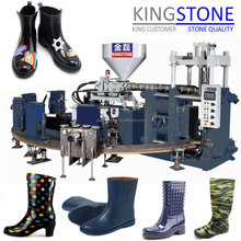 Two Color PVC Women Rain Boots Injection Moulding Machine JL-288