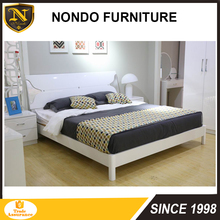 cheap latest double king size wooden bed frame E5903B