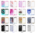 360 degrees full package color marble TPU film cover case for iphone 7