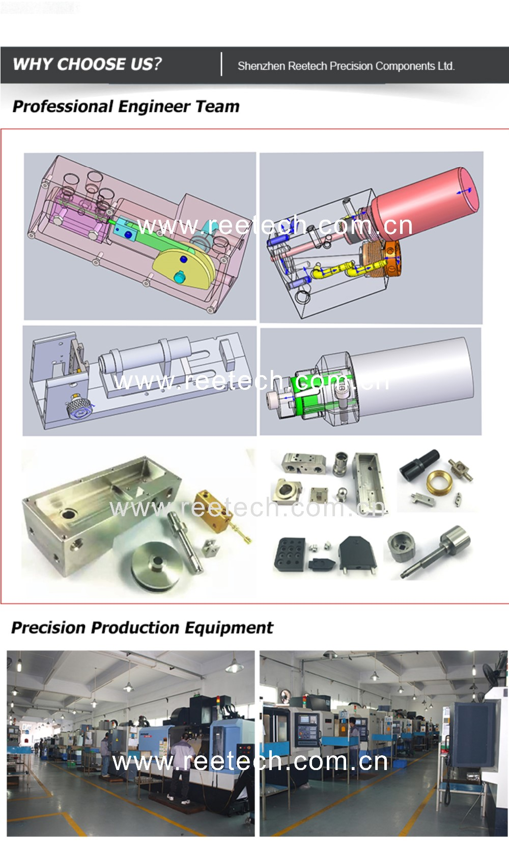 China aluminum cnc machining part with best service