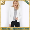 100% polyester lightweight womens fitted blazer waterproof jacket