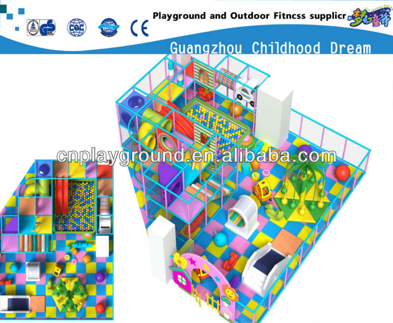 $39.00/Sq.m (HC-22352) INDOOR PLAY AREA ,INDOOR PLAY STRCTURE ,AMUSEMENT PARK KIDS INDOR PLAY SET