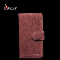 Vintage wallet mobile phone leather case for samsung note 5 case
