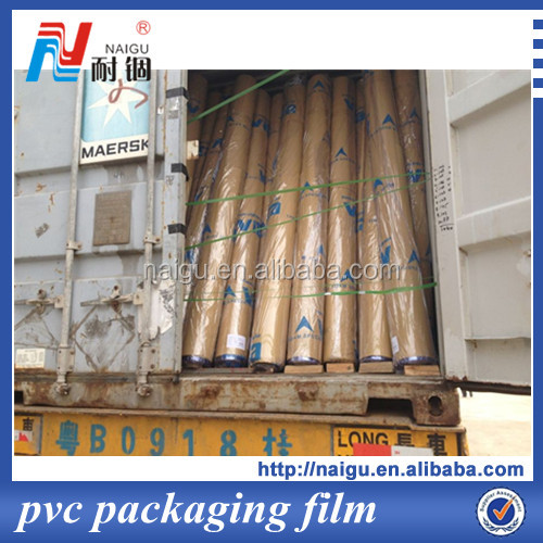 print beautiful color roll clear pvc film