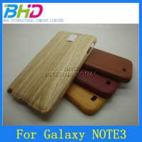 Wood pattern skin cell phone cover for Samsung Note 3