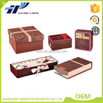 New products rigid paper packaging box for Valentine gift / jewelry