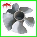 micro axial flow water turbine